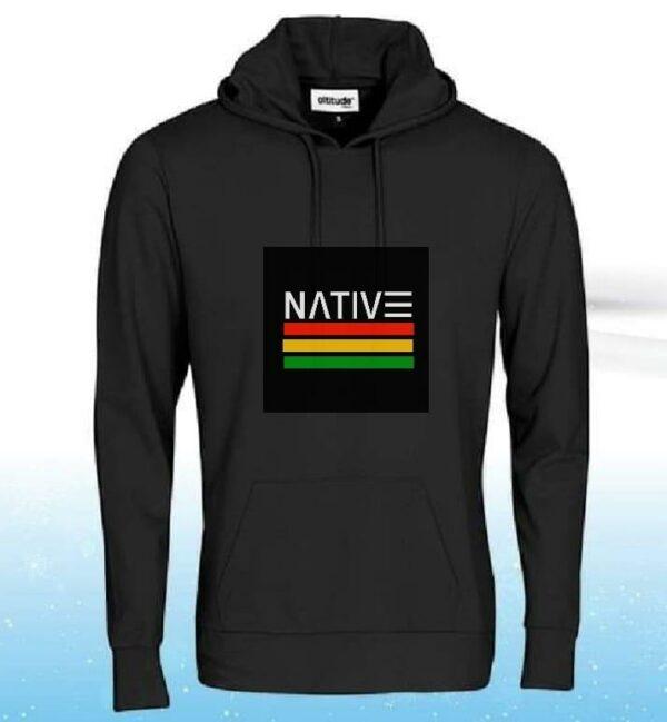 Native Branded Hoodies