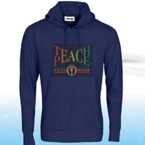 Custom Branded Hoodies - Teach Peace & Love