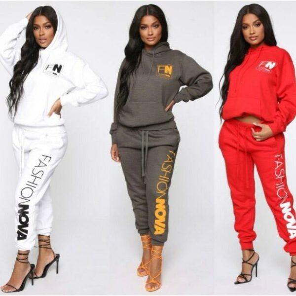 Fashion Nov Ladies Track Suits